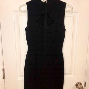 BEBE Bodycon Black Dress